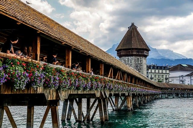 chapel bridge lucerne, lucerne attractions