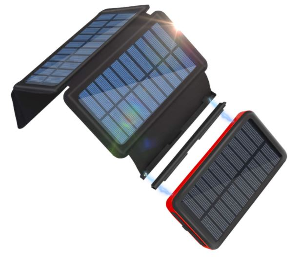 best solar chargers, best solar battery bank
