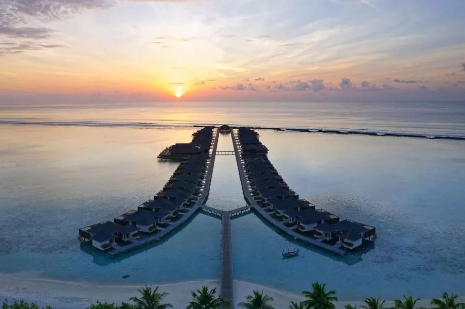 cheap water bungalows