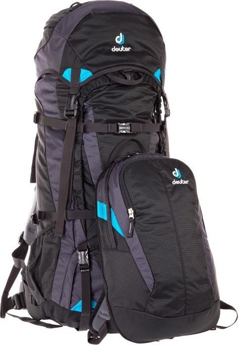 backpack with detachable daypack