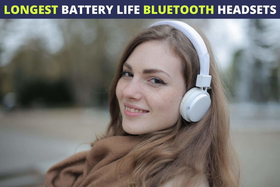 bluetooth headphones long battery life
