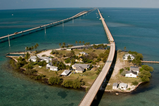 how long is the bridge from miami to key west